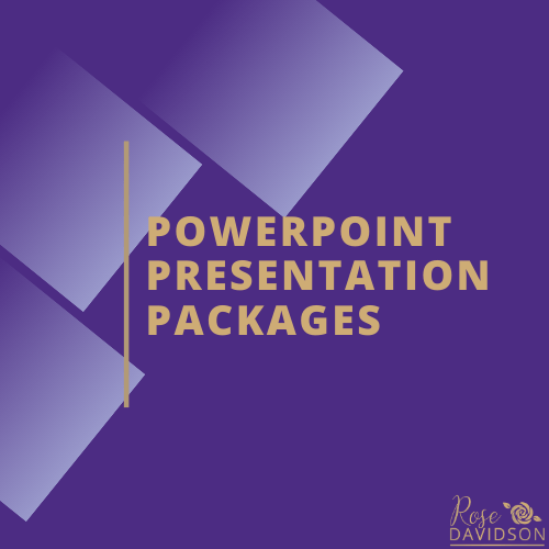 Black Friday Sale, Package, Packages, Rose Davidson, Small Business, Entrepreneurs, Virtual Assistant, Office Manager, Social Media, PowerPoint, Presentations,  Workshops, Events, Video, Speakers, Hybrid Speaker Support, Helping Speakers Transition to an Online Business